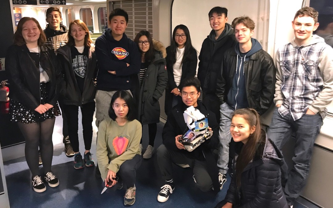 DP Science Students Compete in Vancouver
