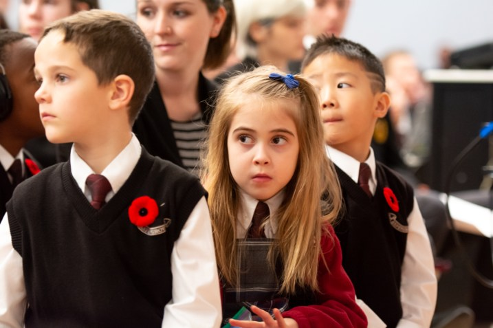 remembrance day Aspengrove School Nanaimo Independent School-21