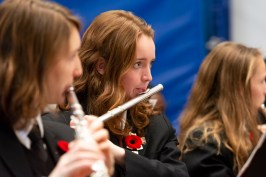 remembrance day Aspengrove School Nanaimo Independent School-3