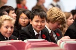 remembrance day Aspengrove School Nanaimo Independent School-4
