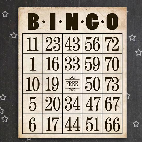 Free Printable Bingo Cards Aspen Jay