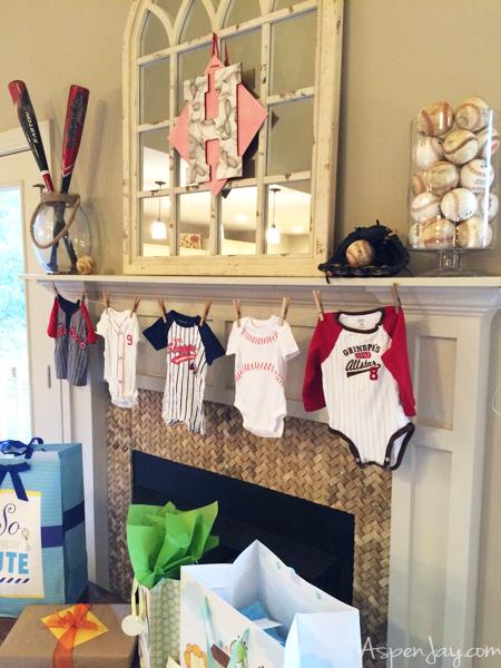 Baseball Baby Shower Theme3