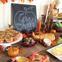 Fun Thanksgiving Food Ideas for a Preschool Party
