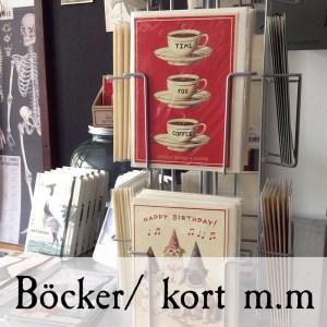 Böcker & kort/pappersvaror