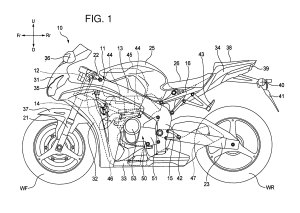 Honda V4 Superbike Engine Outed in Patent Photos  Asphalt & Rubber