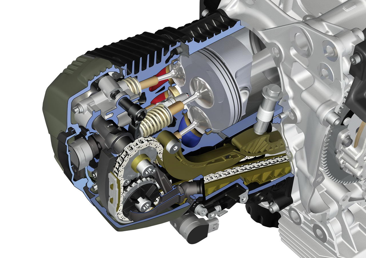 bmw r-series gets revised motor with dohc