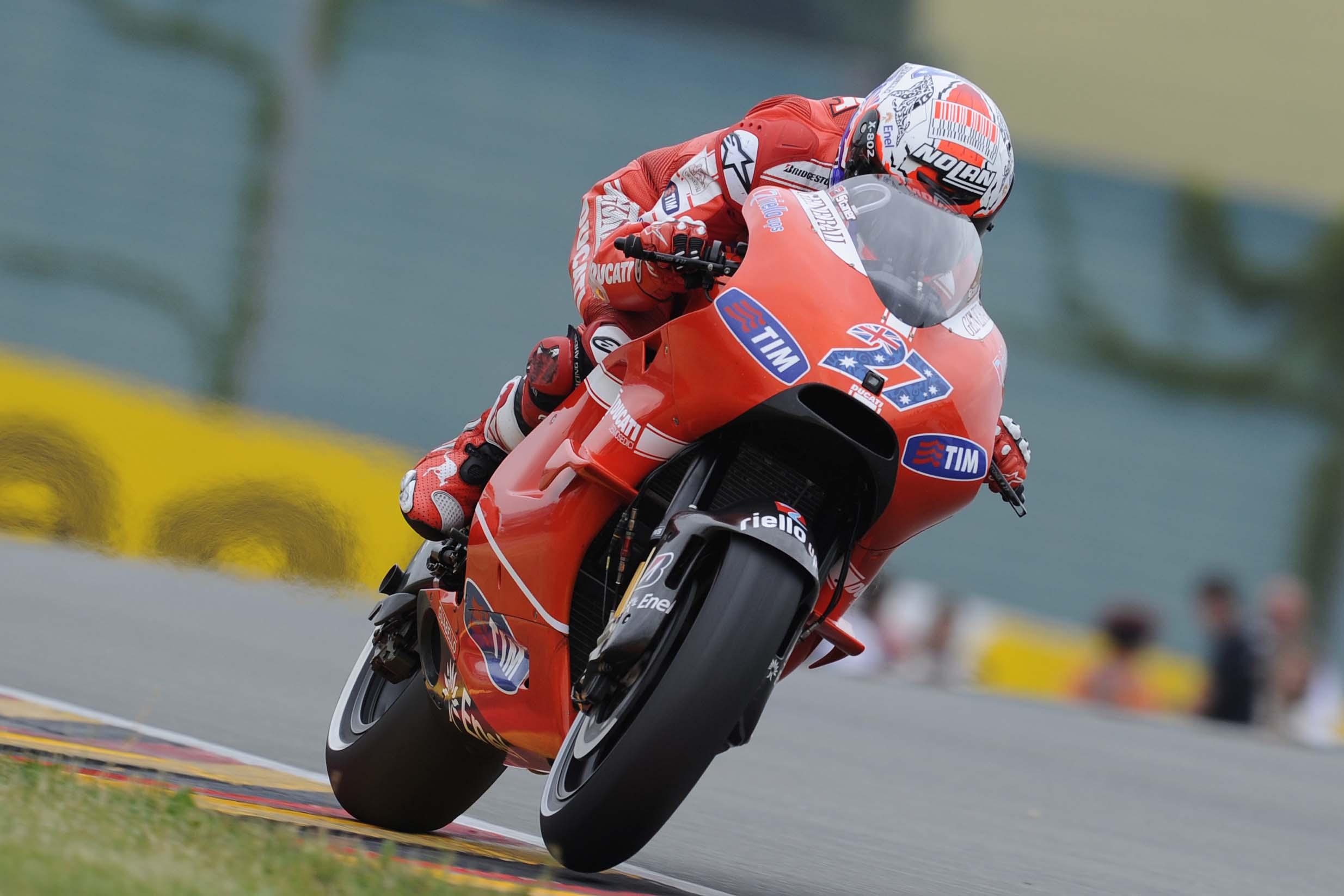 Ducati Desmosedici Gets Wings for Sachsenring - Asphalt & Rubber