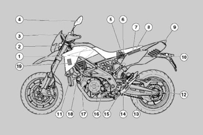 filtro aria sportivo con flusso He tecnica guida dal campione del mondo in ruester mwr /& Caponord 1200/ 11//–/ 16 Aprilia Dorsoduro 1200/ 13//–/ 16