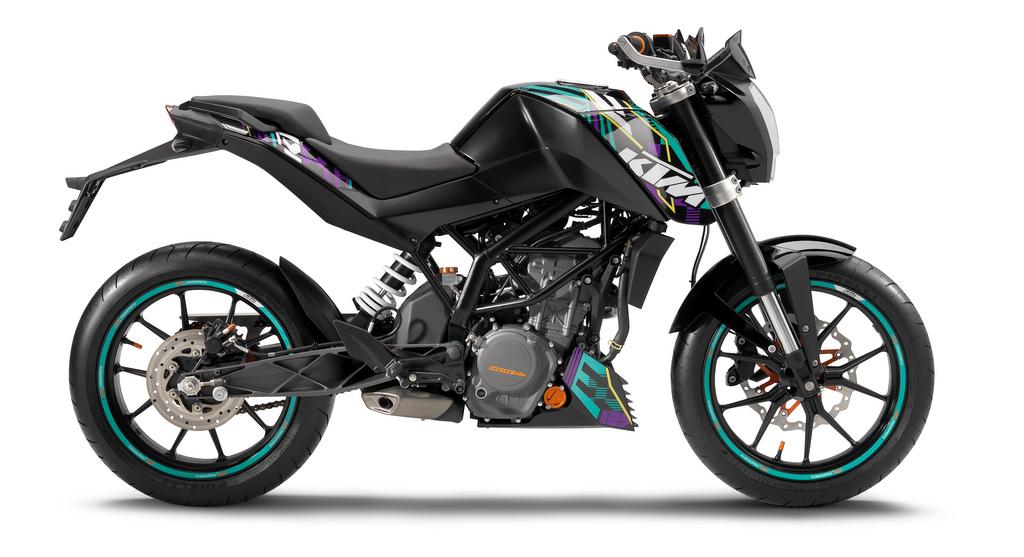 2011 ktm 125 duke the bike bajaj built asphalt rubber. Black Bedroom Furniture Sets. Home Design Ideas