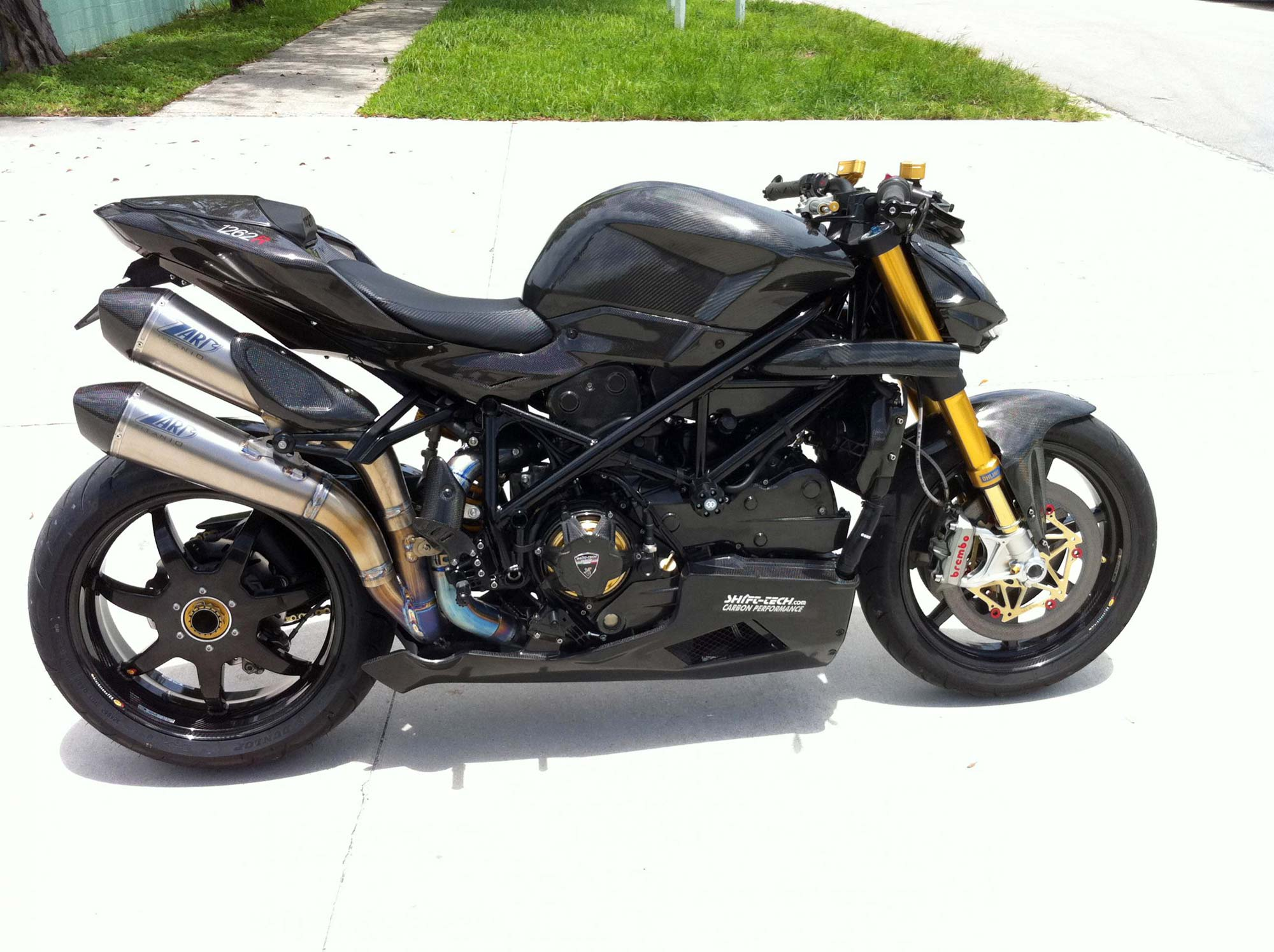 for sale: carbontastic ducati streetfighter that will eat