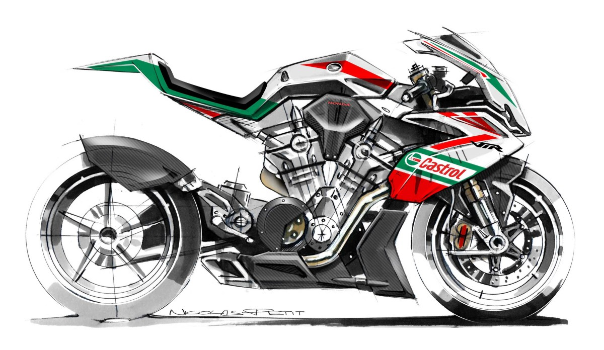 A Honda RVF1000 V4 Superbike for 2019?