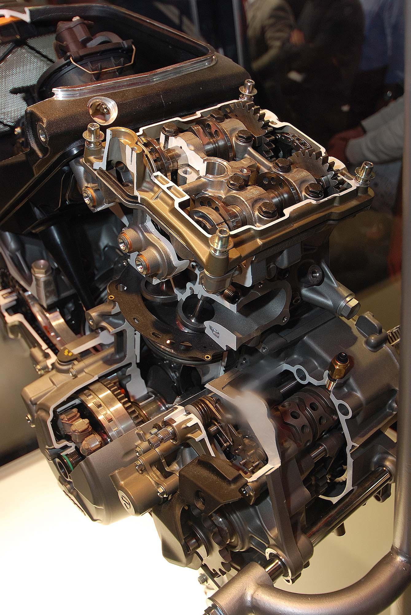 Ducati Panigale Engine Failure