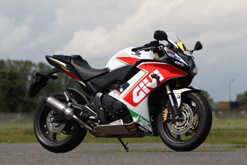 honda cbr600f lcr edition stefan bradl 39 s race replica asphalt rubber. Black Bedroom Furniture Sets. Home Design Ideas