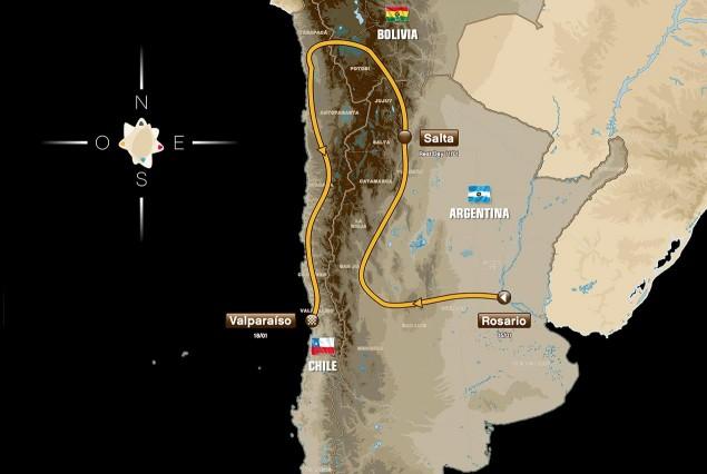 2014-dakar-rally-route-map