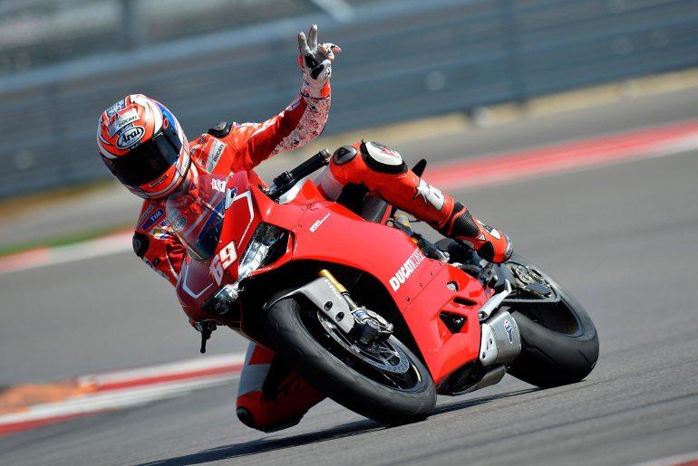 Nicky Hayden Testing the Ducati WSBK Today at Mugello - Asphalt & Rubber