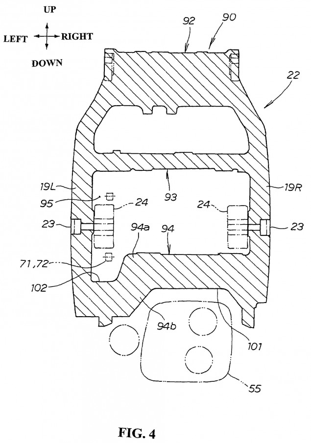 Honda-motorcycle-monocoque-chassis-design-patent-04
