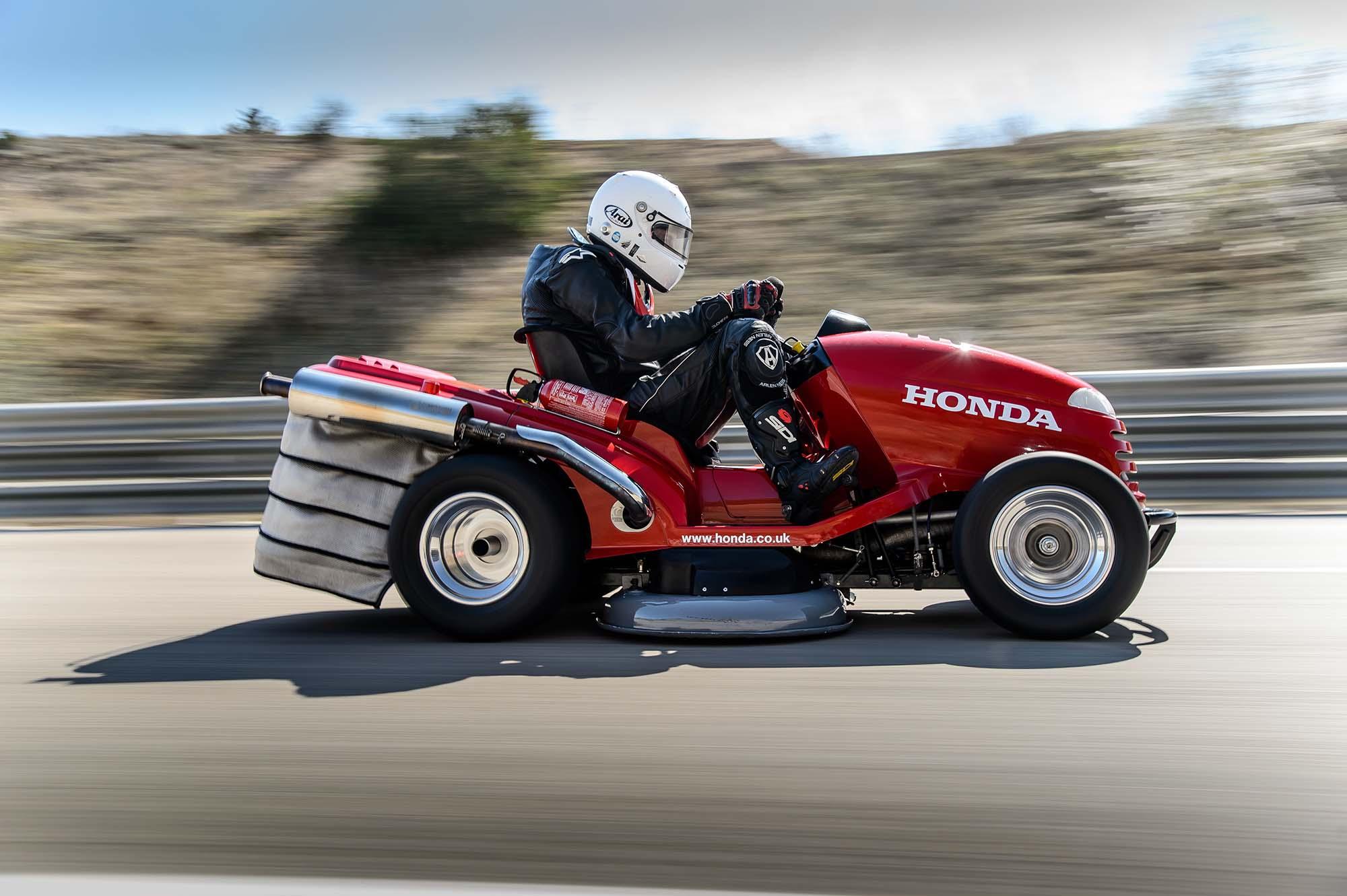 The Fastest Honda Lawn Mower Car