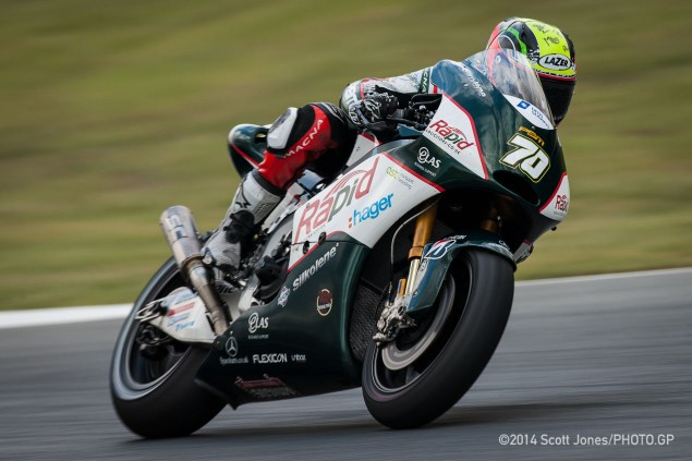 Michael Laverty Catalunya 2014