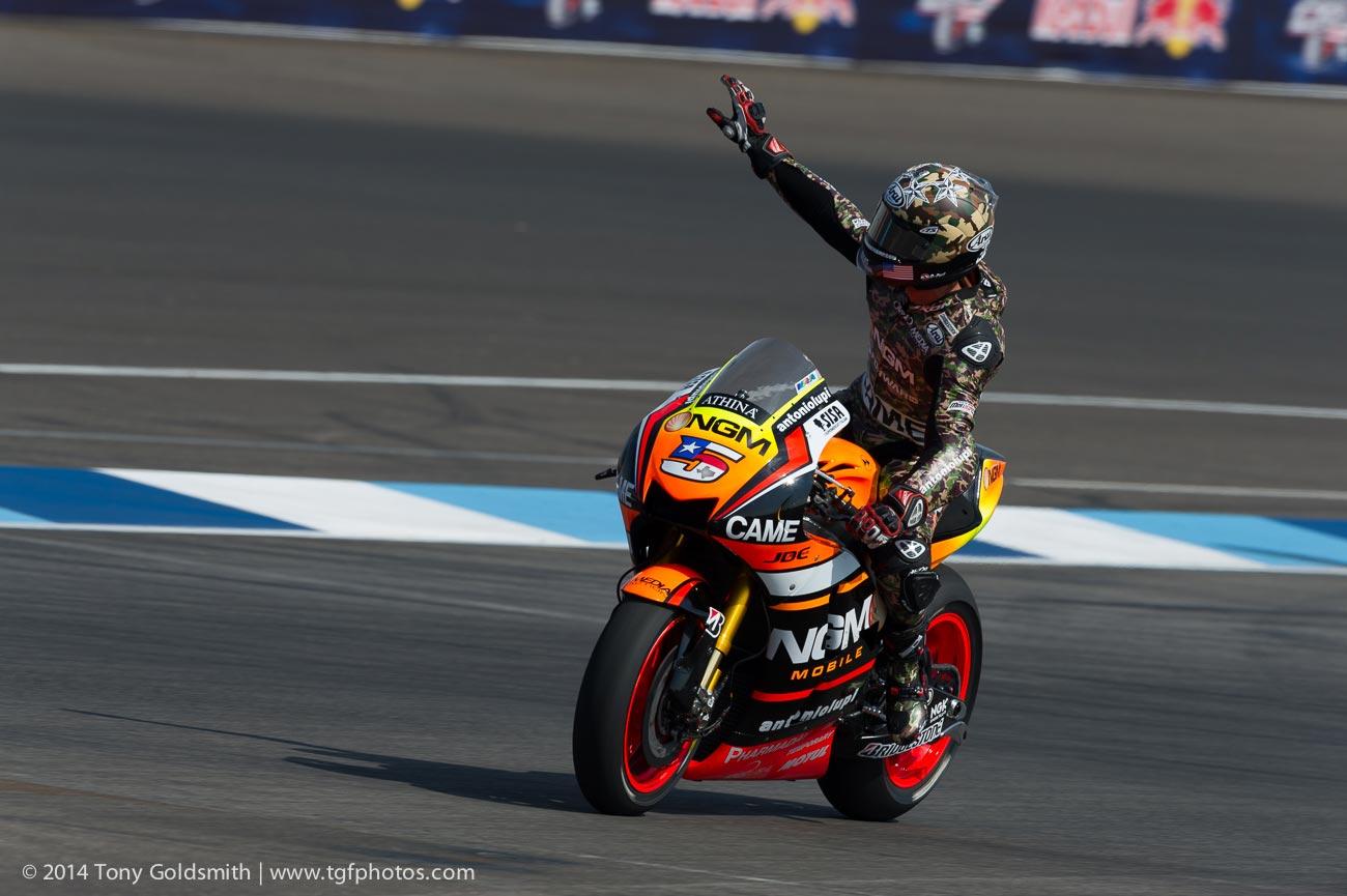 Colin Edwards - 2008 Jerez MotoGP Qualifying Save - YouTube
