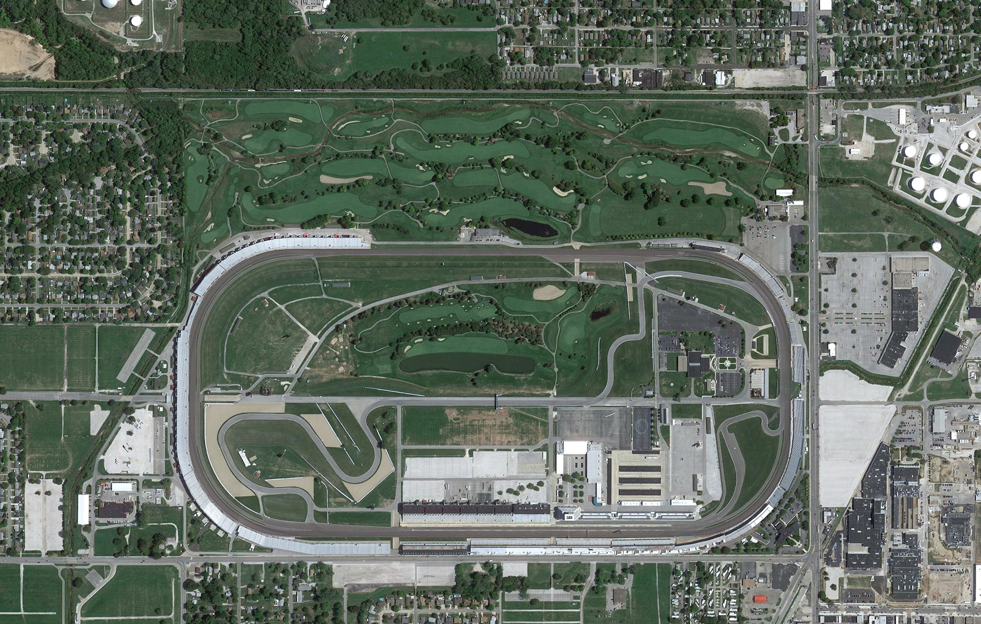 What 39 s bigger indy motor speedway or big 10 football for The indianapolis motor speedway