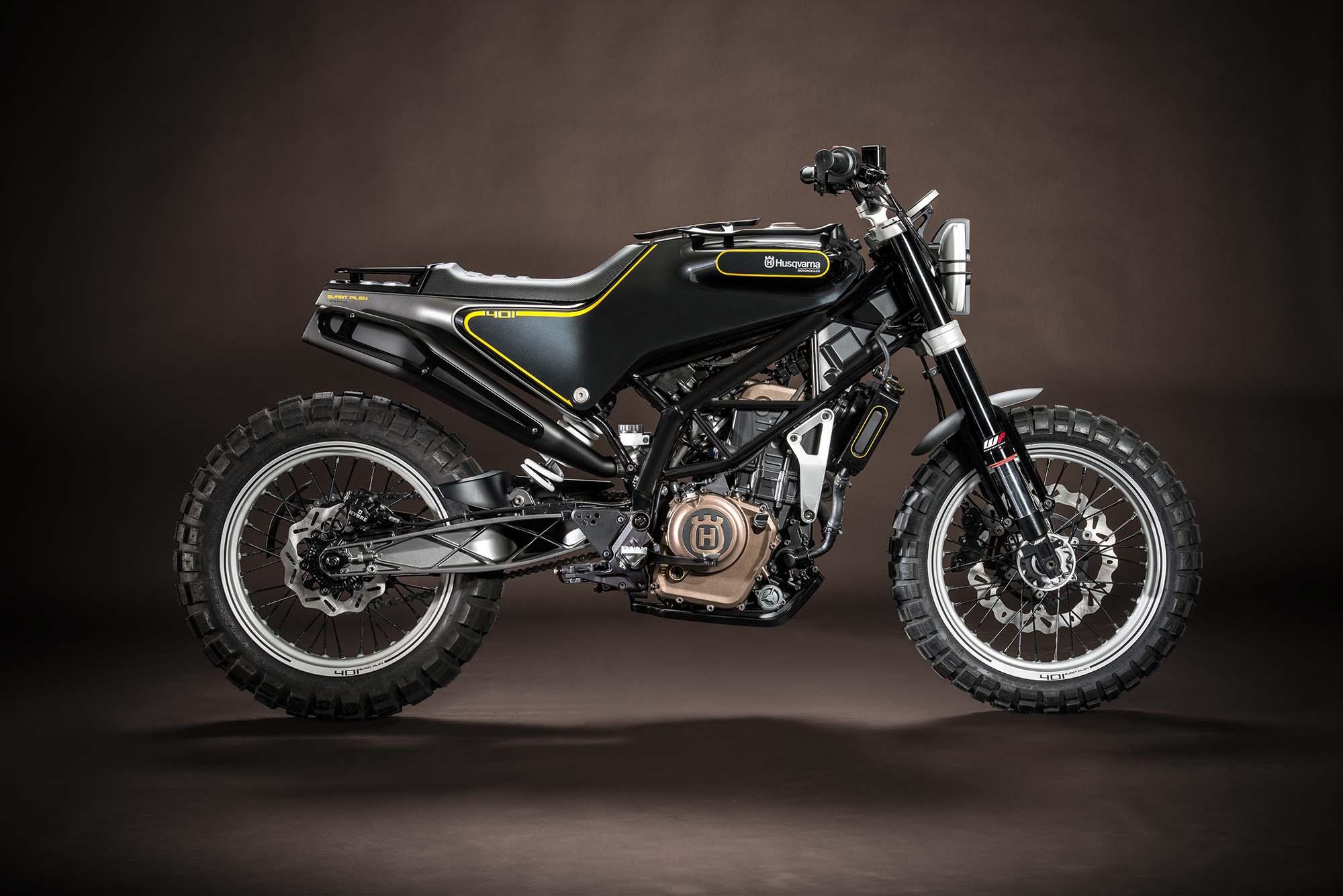 Honda Grom Price >> Husqvarna 401 Svartpilen Concept - Asphalt & Rubber
