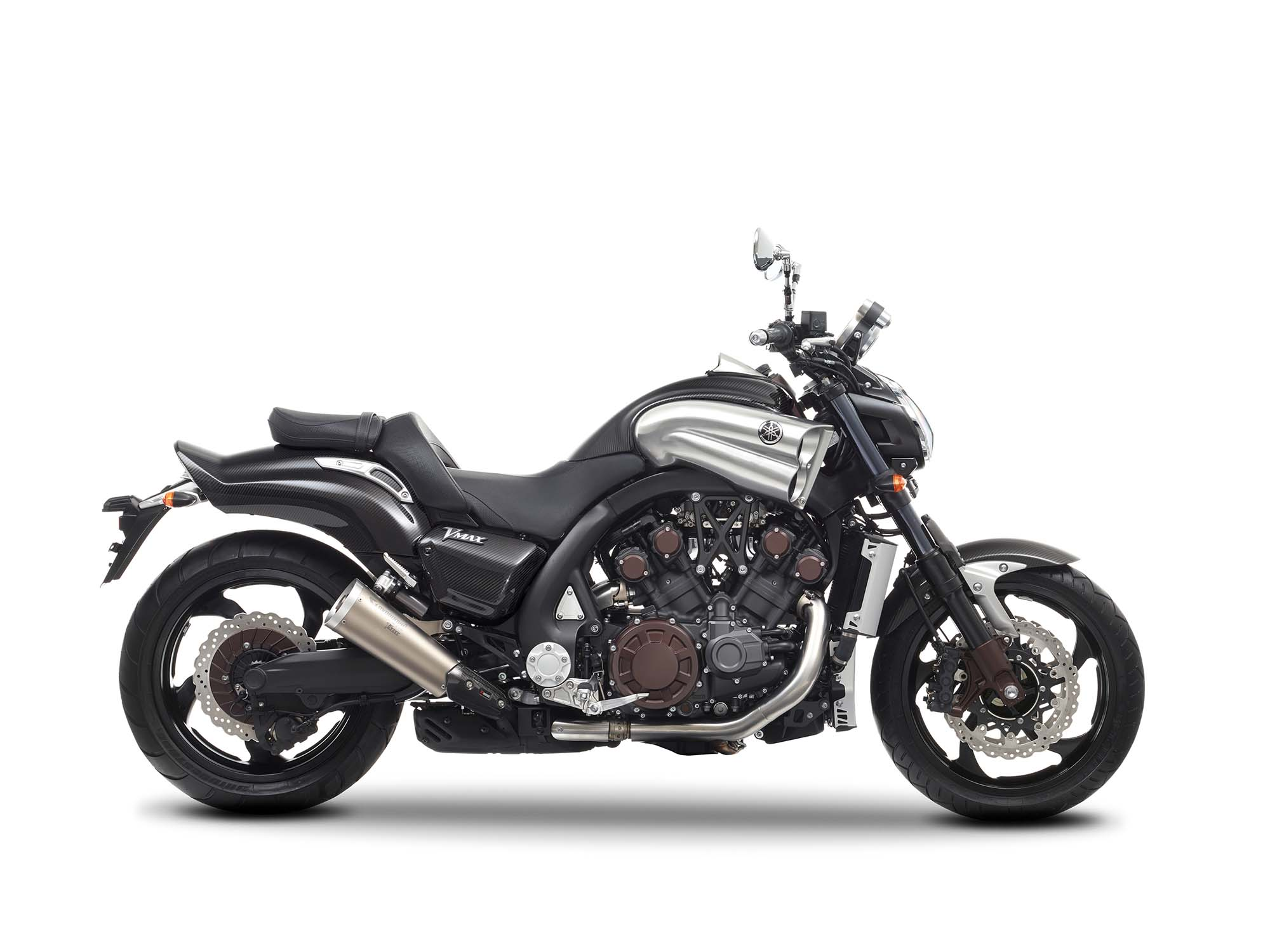 yamaha vmax carbon celebrating 30 years of vmax asphalt rubber. Black Bedroom Furniture Sets. Home Design Ideas