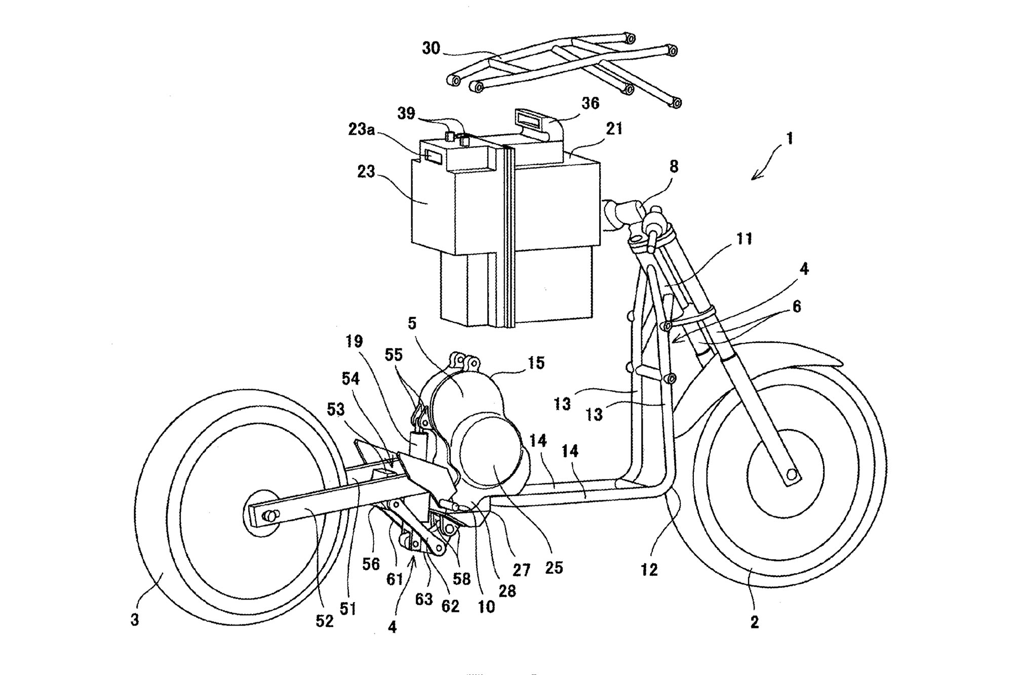 Kawasaki Applies For Electric Motorcycle Patent