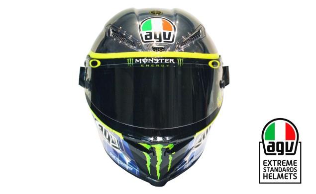 Valentino Rossi S 2015 Mugello Agv Helmet Asphalt Amp Rubber