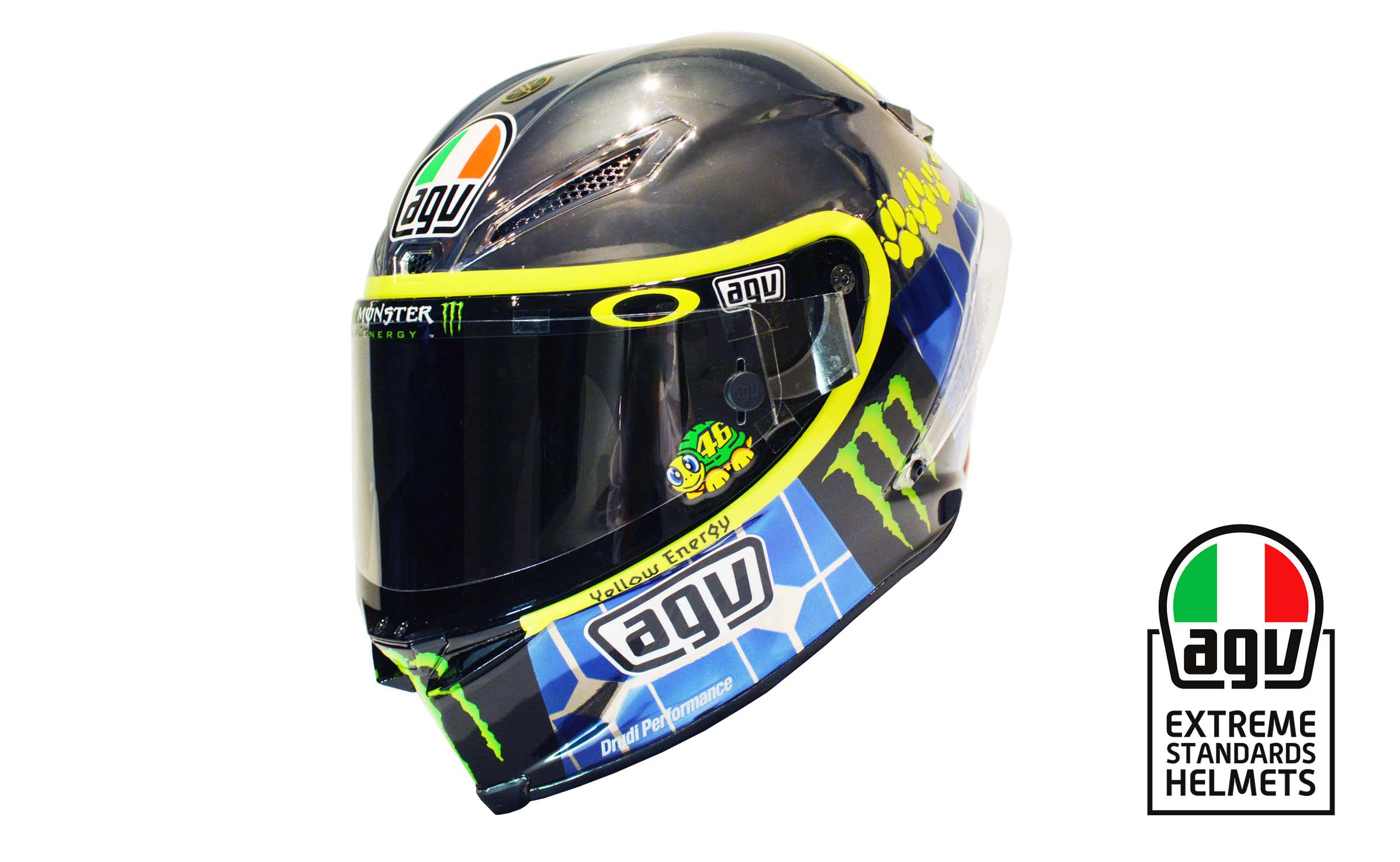valentino rossi s 2015 mugello agv helmet asphalt rubber. Black Bedroom Furniture Sets. Home Design Ideas