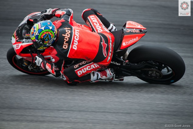Chaz Davies Ducati 2 WSBK 2015 Laguna Seca