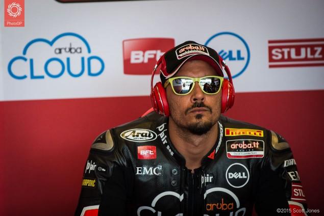 Davide Giugliano Ducati WSBK 2015 Laguna Seca