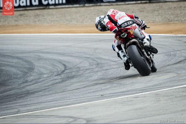 Niccolo Canepa Ducati Race 1 WSBK Laguna Seca