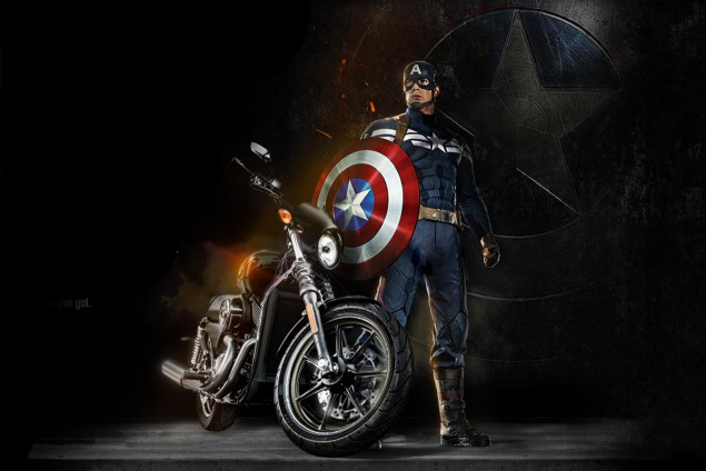 harley-davdison-street-750-captain-america