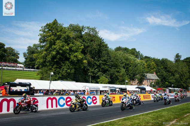BSB Cadwell Park 2015 race start