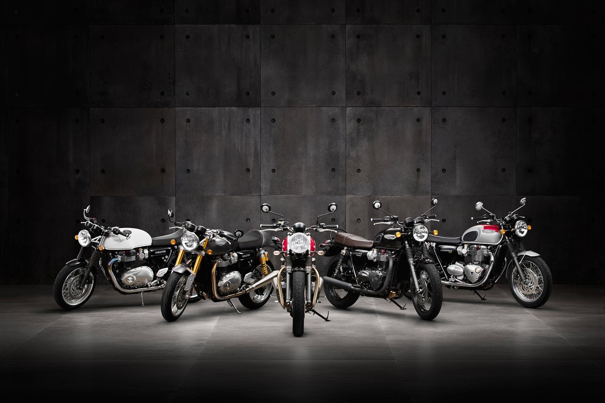 Recall Triumph Modern Classic Motorcycles Asphalt Rubber