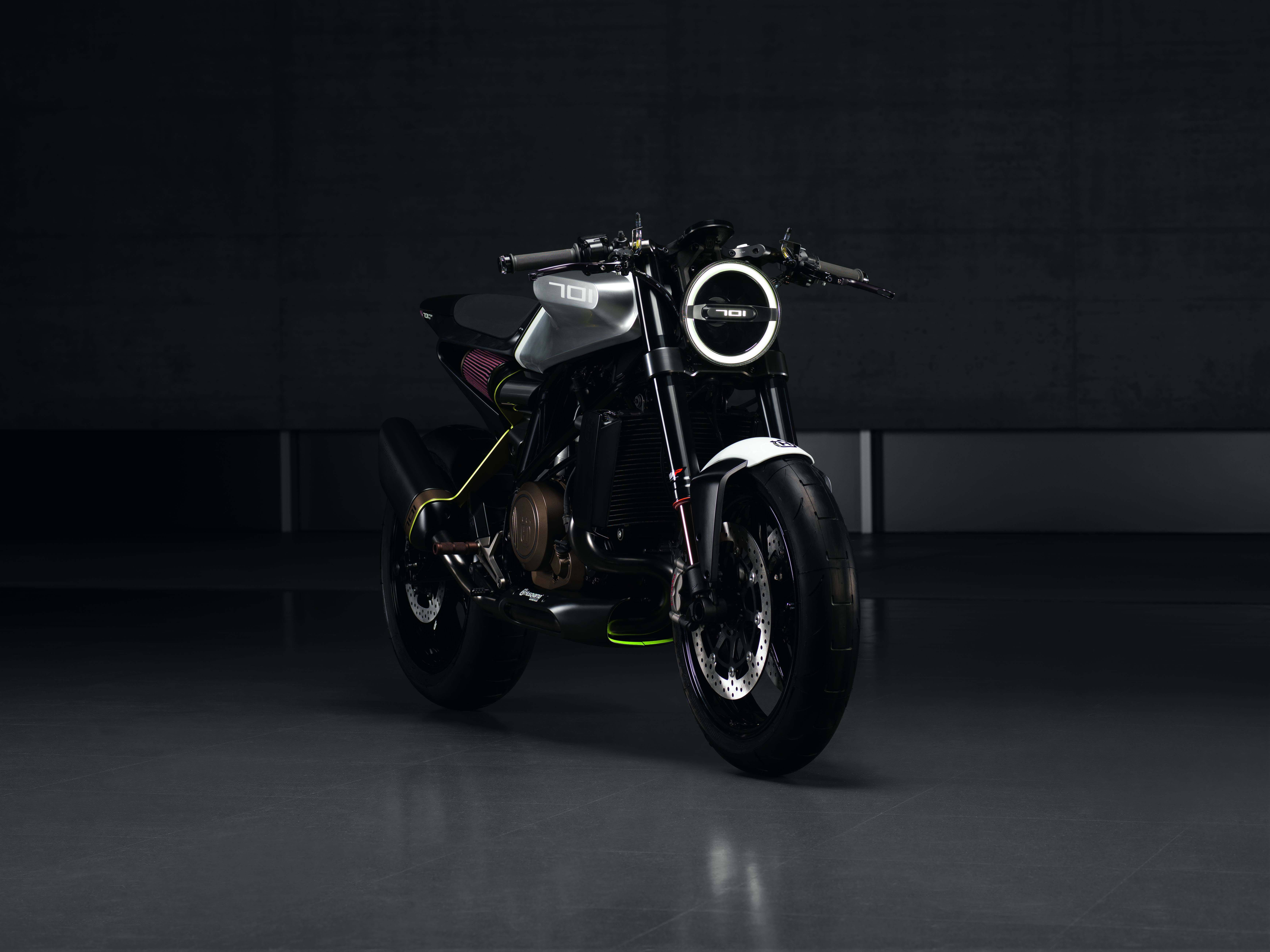husqvarna vitpilen 701 one hot cafe racer from the future. Black Bedroom Furniture Sets. Home Design Ideas