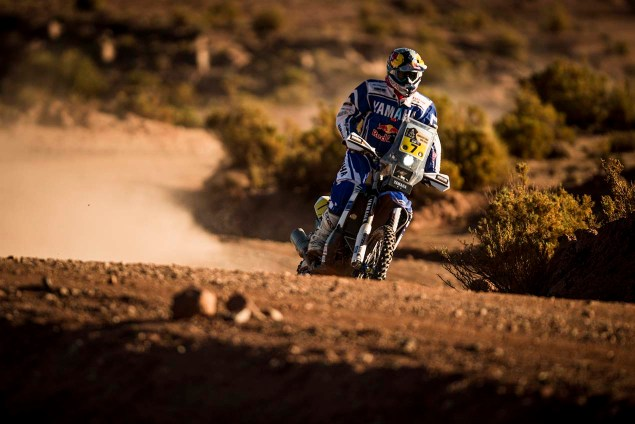 Helder Rodrigues (PRT) of Yamaha Racing Team races during stage 07 of Rally Dakar 2016 from Uyuni, Bolivia to Salta, Argentina on January 9, 2016 // Marcelo Maragni/Red Bull Content Pool // P-20160109-00095 // Usage for editorial use only // Please go to www.redbullcontentpool.com for further information. //