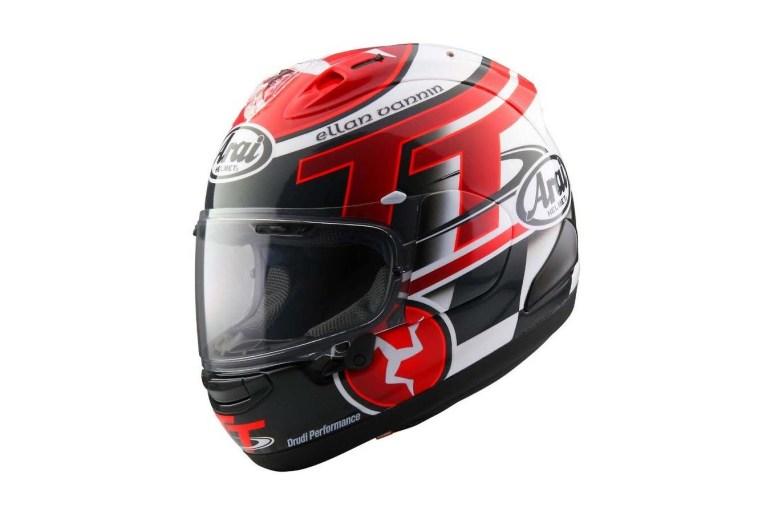 47c40def Arai Unveils Its 2016 Limited Edition Isle of Man TT Helmet