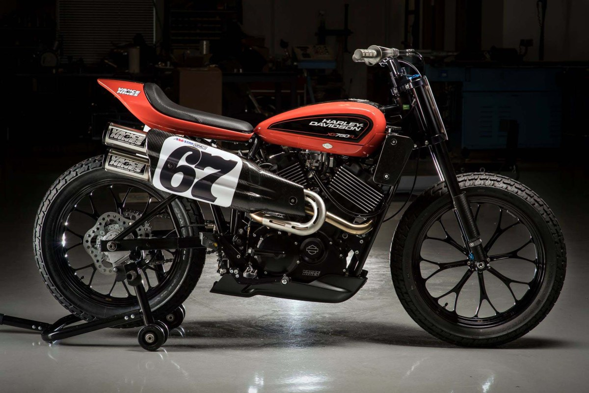 Harley-Davidson XG750R - The Bar & Shield's Next-Gen Flat Tracker, For Racers Only