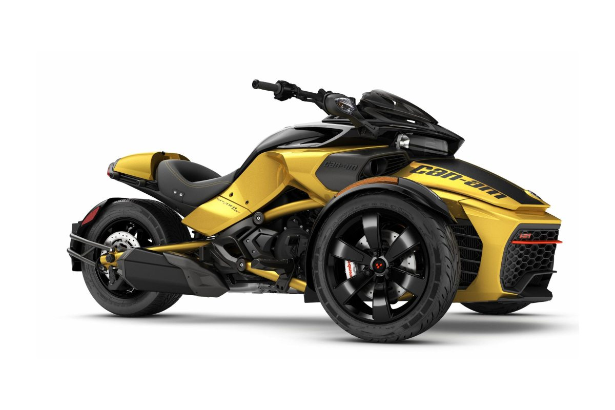 The 2017 Can-Am Spyder F3-S Becomes Almost Fun