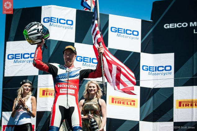 2016-WSBK-Laguna-Seca-Saturday-Nicky-Hayden-podium