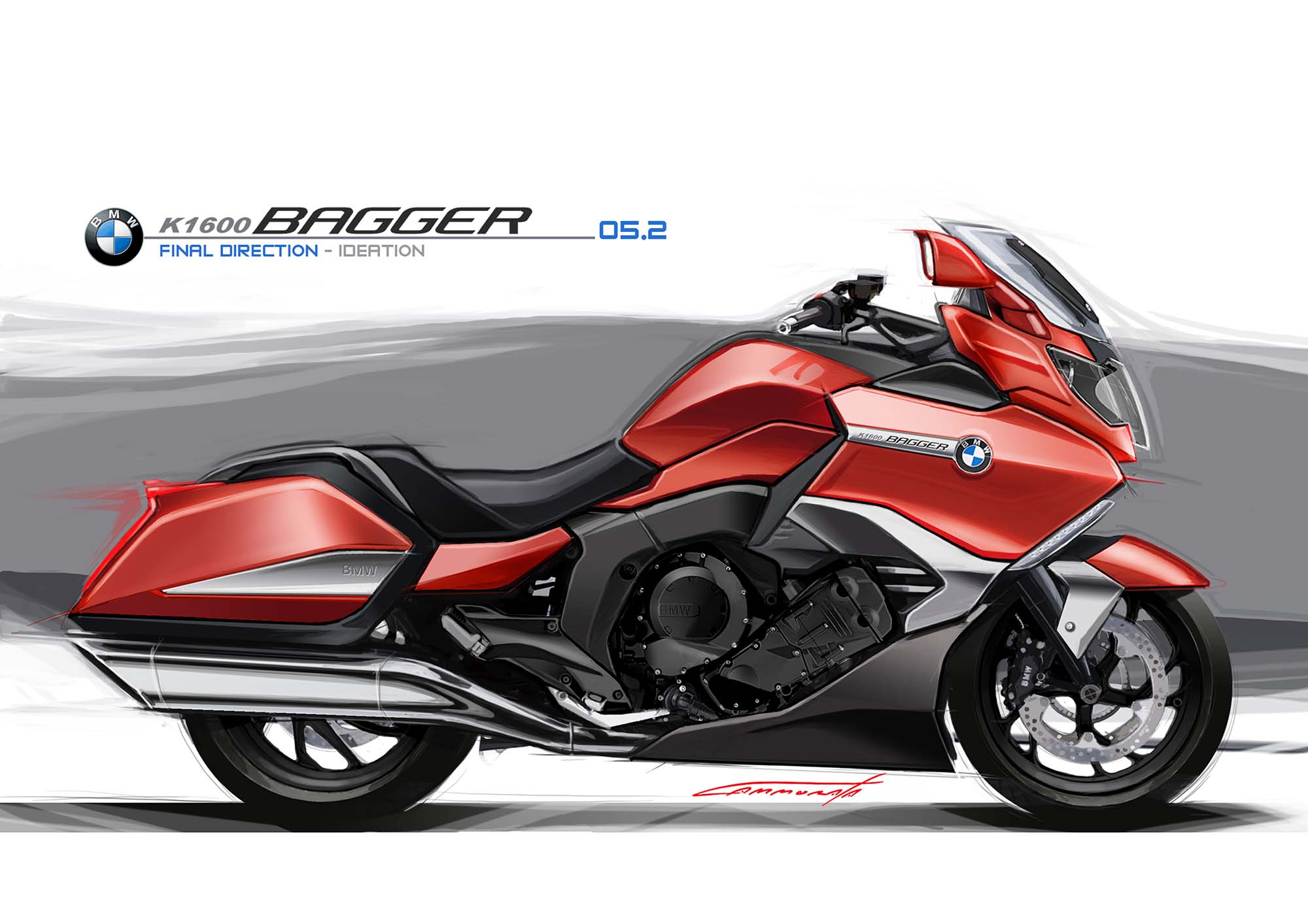 Bmw K1600b Germany S Six Cylinders Of Bagger