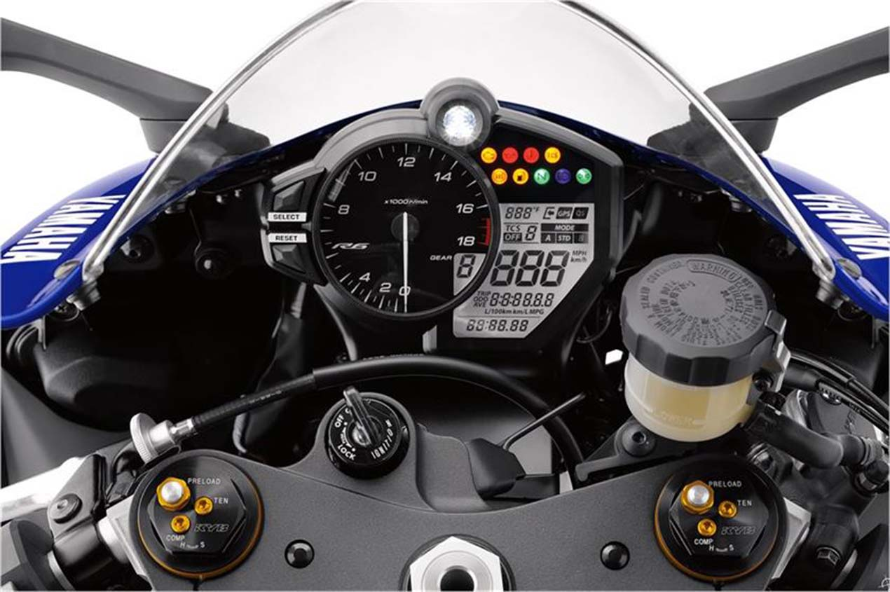 Yamaha Yzf R6 Gets Abs Traction Control Amp More