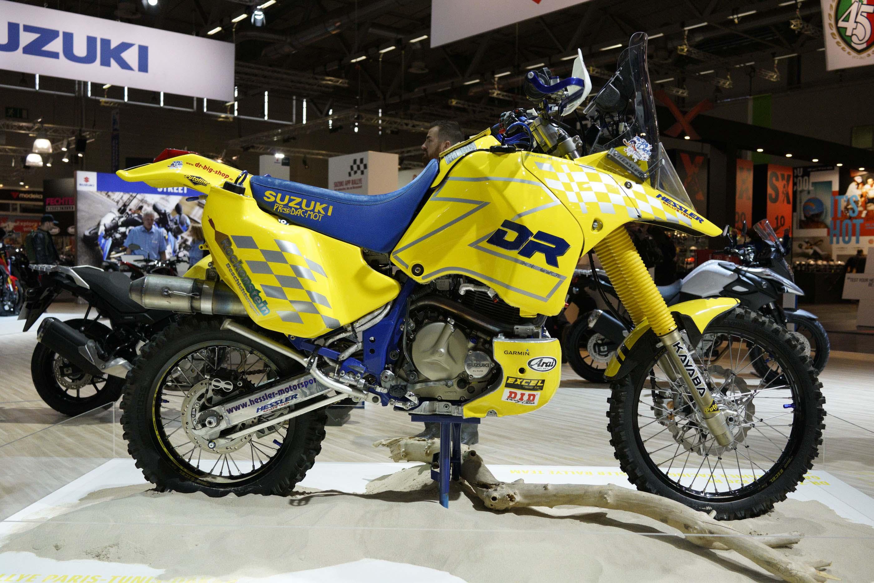 Checkout This Historic Suzuki Dr Z Dakar Rally Race Bike