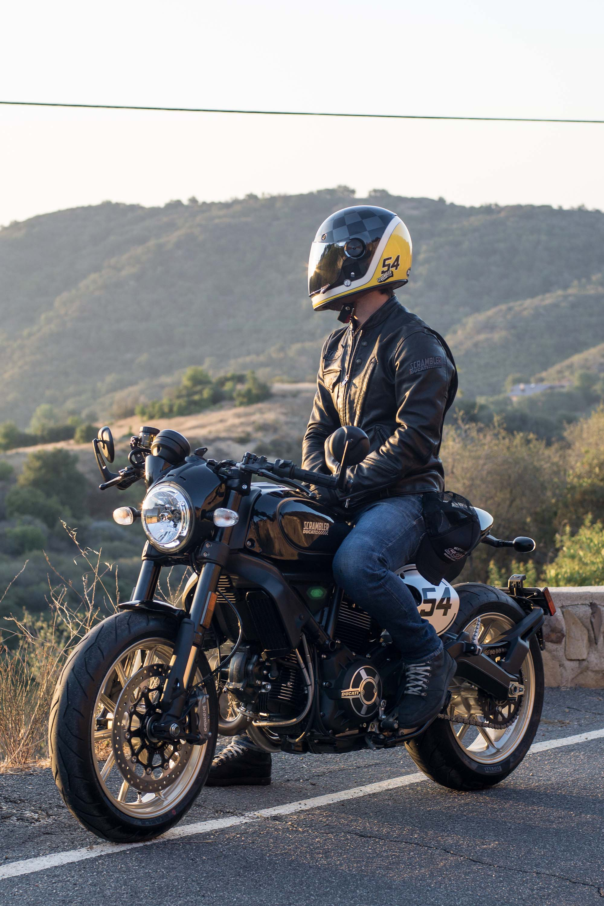 here is the aptly named ducati scrambler café racer
