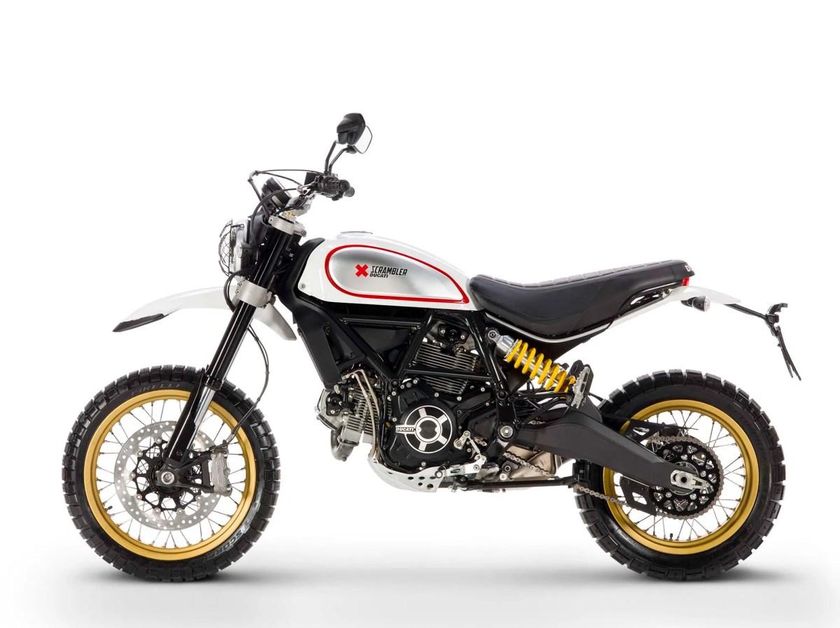 Ducati Scrambler Desert Sled - Got Roost?