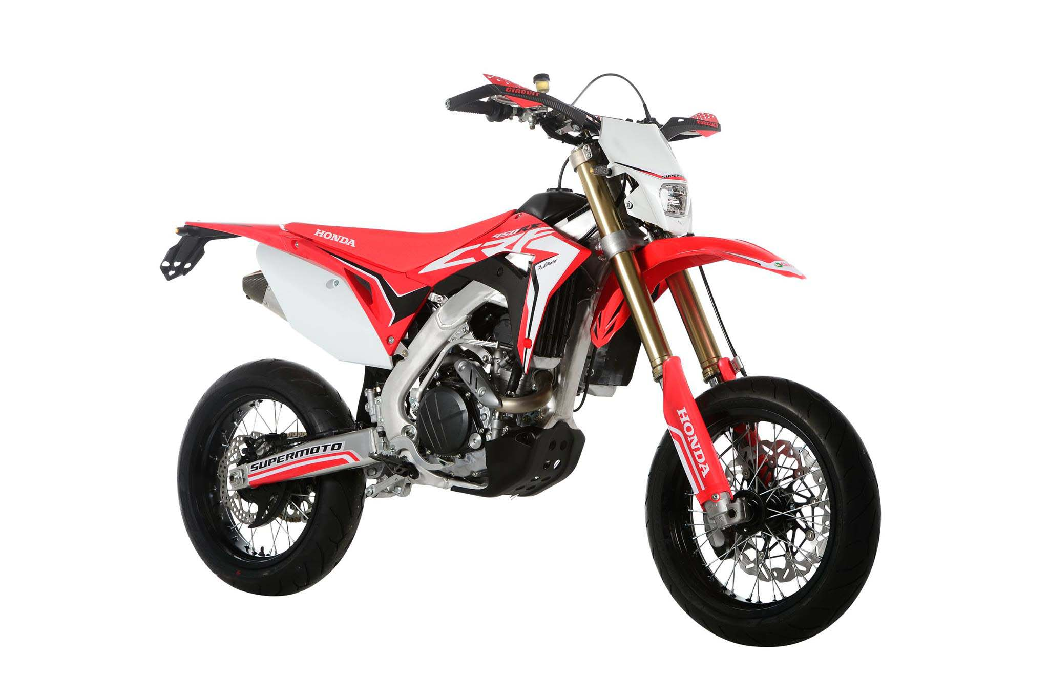 2017 Honda Crf450 Supermoto For France Only