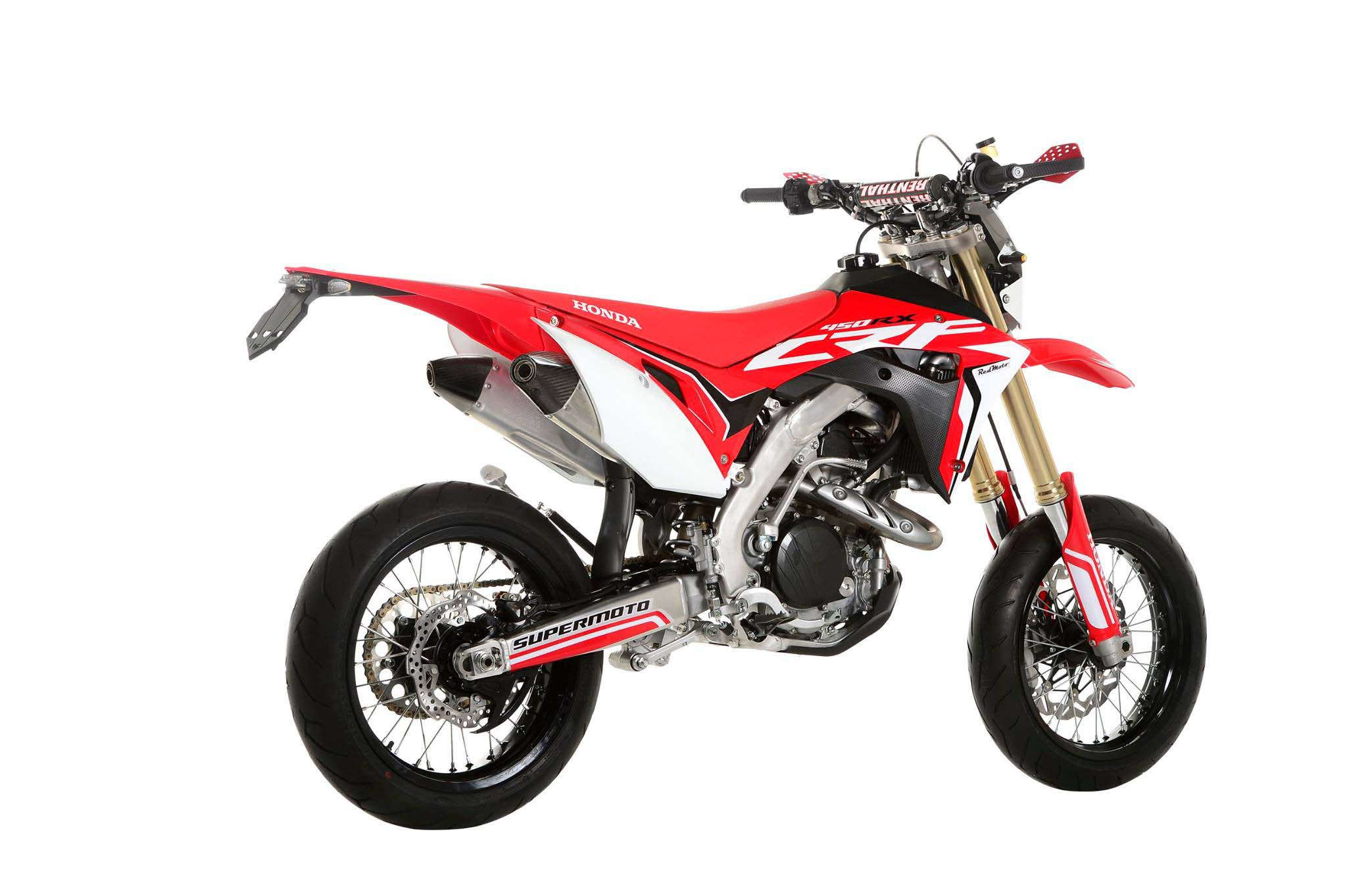 2017 Honda CRF450 Supermoto, for France Only