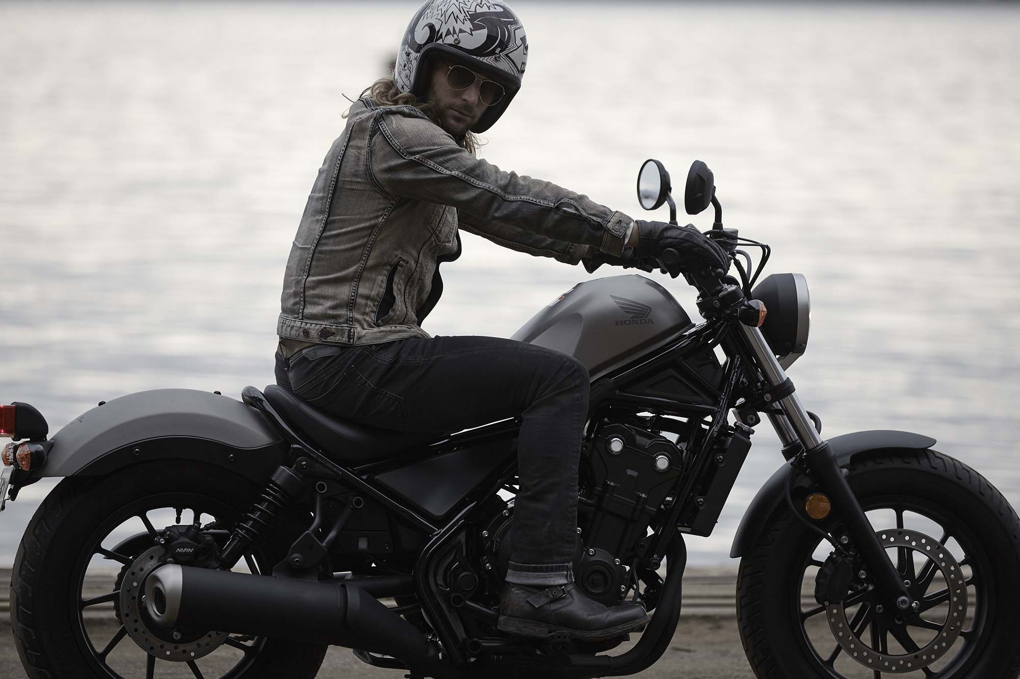 New Honda Rebel 500 Amp Rebel 300 Models Debut