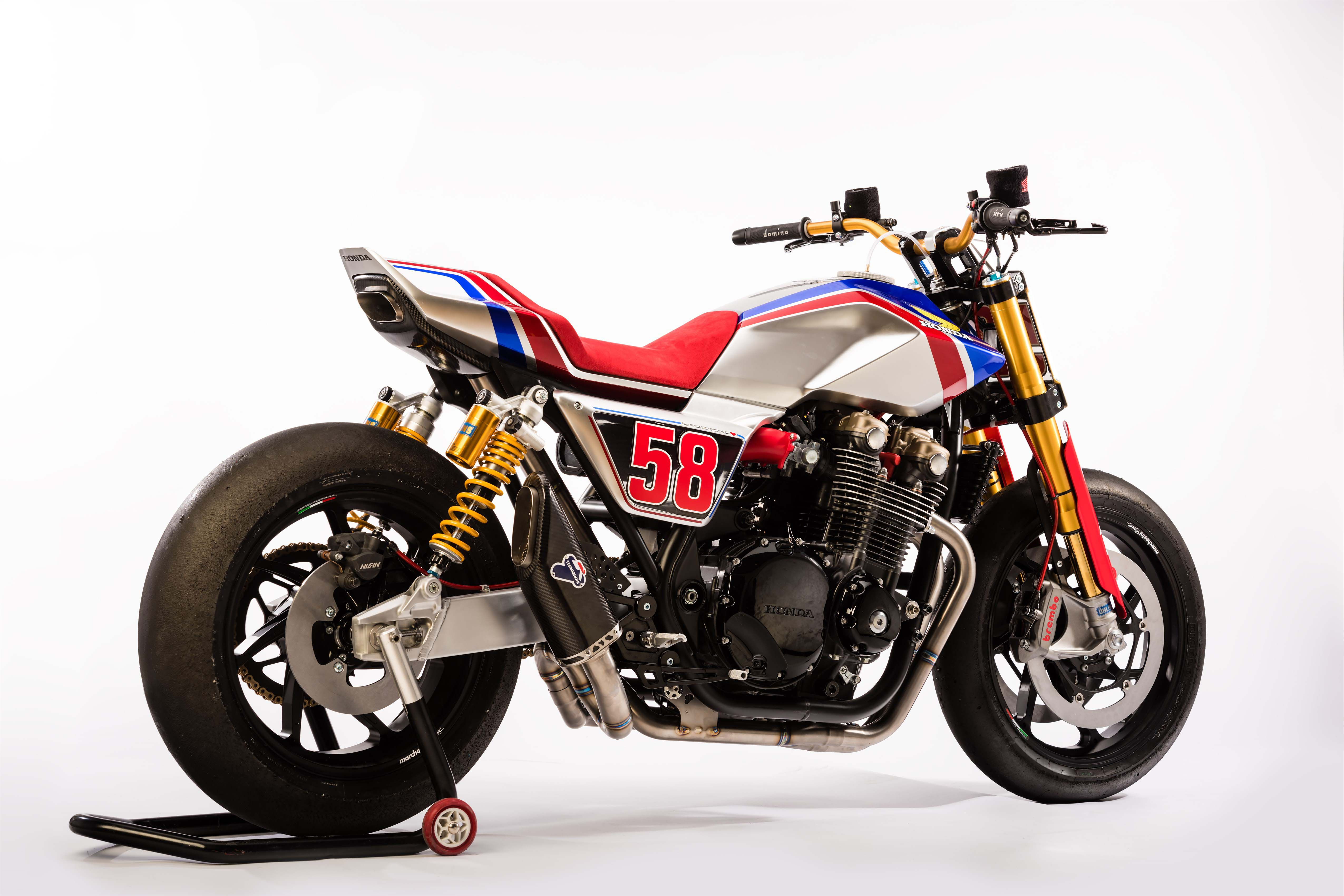 The Honda Cb1100 Tr Concept Gives A Nod Towards Europe S